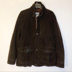 Columbia Men's Heavy Coat in Brown Size S